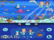 Флеш игра онлайн Магический подводный мир