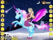 Флеш игра онлайн Волшебный Единорог
