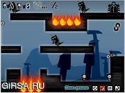 Флеш игра онлайн Magnet ninja