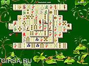 Флеш игра онлайн Сады Майджонга