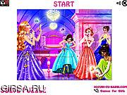 Флеш игра онлайн Макияж для принцессы / Makeup Princess 2 Jigsaw