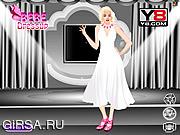 Флеш игра онлайн Мэрилин Монро - одевалки / Marilyn Monroe Dressing Up