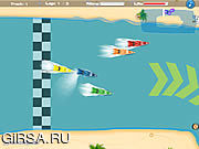 Флеш игра онлайн Гонщики Марины / Marina Racers