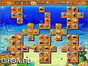 Флеш игра онлайн Веселая жизнь / Marine Life Picture Matching