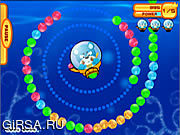 Флеш игра онлайн Медведь и кошка морской Шары Шары