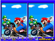 Игра Mario - 6 Differences