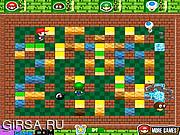 Флеш игра онлайн Марио и бомба / Mario Bomb Man