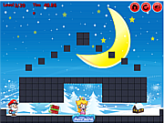 Флеш игра онлайн Рождественский подарок для Марио