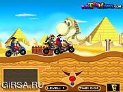 Флеш игра онлайн Марио Египте Приключения / Mario Egypt Adventure