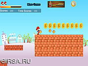 Флеш игра онлайн Марио и большое путешествие 3