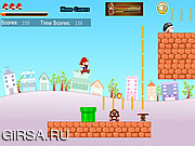 Флеш игра онлайн Приключение марио 3 / Mario Great Adventures 3
