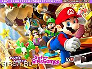 Игра Mario Hidden Letters