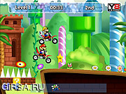 Игра Mario Motocross Mania 3