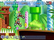 Флеш игра онлайн Mario Motocross Mania 3