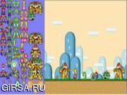 Флеш игра онлайн Mario Scene Creator