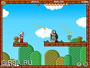 Флеш игра онлайн Марио и зомби
