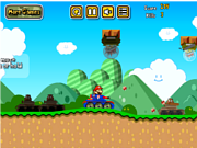 Флеш игра онлайн Mario Tank Adventure