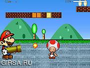 Флеш игра онлайн Марио против Луиджи 4 / Mario vs Luigi 4