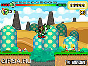 Флеш игра онлайн Марио  / Mario & Yoshi Dash