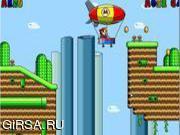 Флеш игра онлайн Марио против цеппеленов 3 / Mario Zeppelin 3