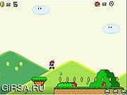 Флеш игра онлайн Mario's Adventure