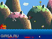 Флеш игра онлайн Супер бонанца шлюпки Марио / Super Mario Boat Bonanza