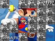 Флеш игра онлайн Марио. Игра на память