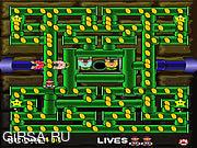 Флеш игра онлайн Марио Bros. В панике трубы / Mario Bros. in Pipe Panic