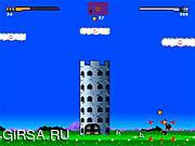 Флеш игра онлайн Заскок мира Марио / Mario World Overrun