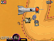 Флеш игра онлайн Приключения на Марсе / Mars Adventures - Curiosity Racing