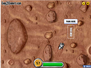Флеш игра онлайн Mars Rover Parking