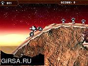 Флеш игра онлайн Mars Buggy