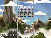 Флеш игра онлайн Майя Камнедробилка / Maya Brick Breaker
