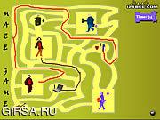 Флеш игра онлайн Игра Лабиринт - Игра 10
