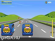 Флеш игра онлайн Megabus - Mega езда / Megabus - Mega Ride
