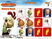 Флеш игра онлайн Chicken Little - Memory