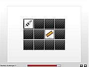 Флеш игра онлайн Тачки. Скрытые предметы / Memory Car Parts
