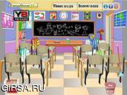 Флеш игра онлайн Грязный класс / Messy Class Room