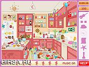 Флеш игра онлайн Найти предметы - Грязная Кухня / Messy Kitchen Hidden Objects