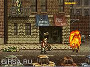 Флеш игра онлайн Металлическое Волнение Слизняка 3 / Metal Slug Rampage 3