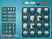 Флеш игра онлайн Микки и Дональд - подбери пару / Mickey and Donald - Memory Balls
