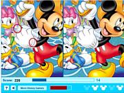 Флеш игра онлайн Микки Маус - 5 отличий / Mickey Mouse - Five Difference