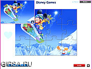 Флеш игра онлайн Микки Маус - Головоломки / Mickey Mouse - Jigsaw