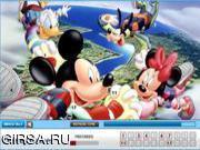 Флеш игра онлайн Микки Маус / Mickey Mouse Find the Numbers