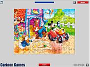 Флеш игра онлайн Микки Маус. Пазл / Mickey Mouse Jigsaw