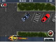 Флеш игра онлайн Парковка лимузина / Midtown Limo Parking