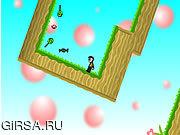 Флеш игра онлайн Осторожно, мартышки! / Mindscape