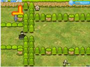 Флеш игра онлайн Mine Warfare