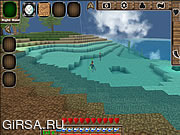 Флеш игра онлайн Minecraft Block Story