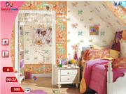 Флеш игра онлайн Найти предметы  - Мини Детская комната